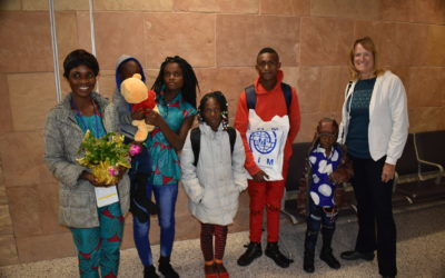TVLC Supports New Refugee Family