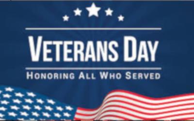 Pausing to Honor Veterans
