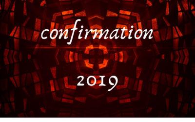 Meet the 2019 Confirmands
