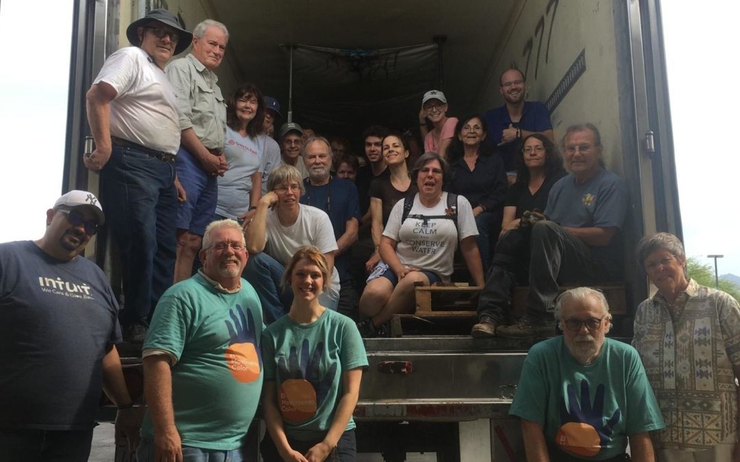 22 tons of clothing processed at Streams in the Desert Lutheran, Tucson